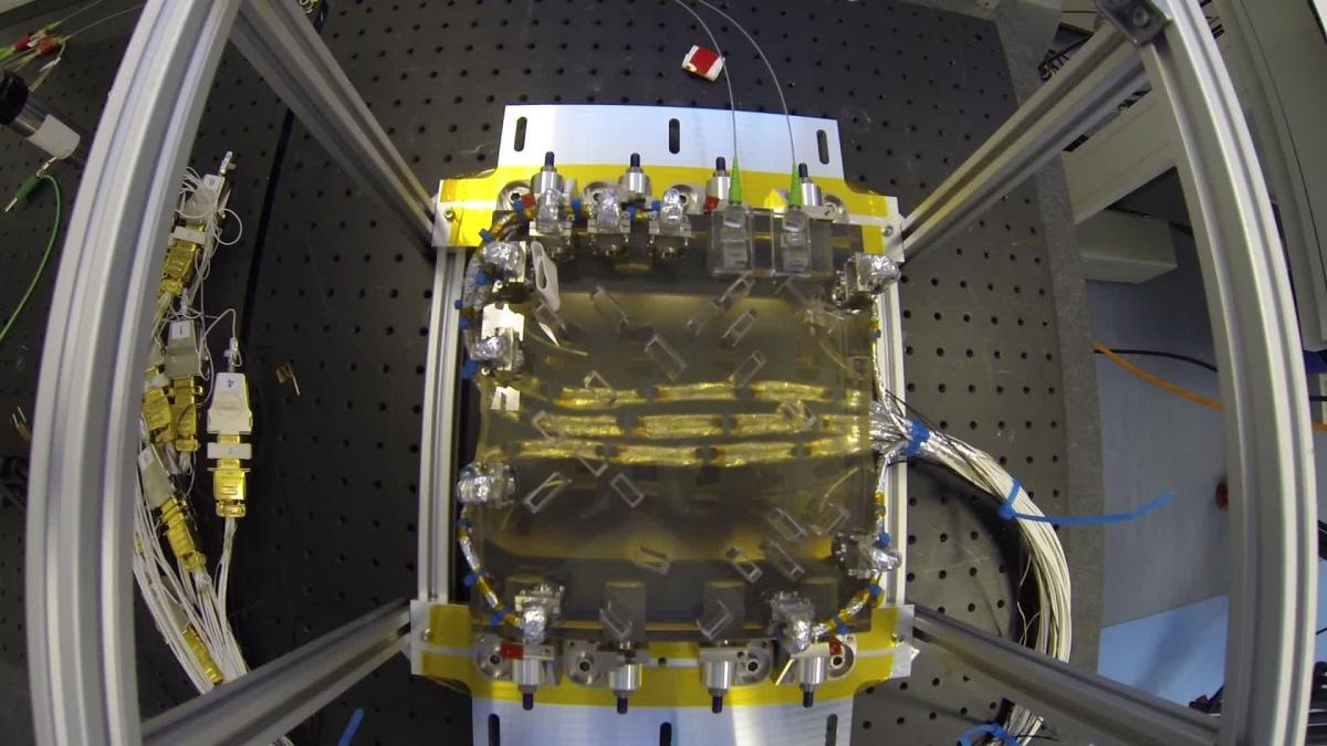 LPF - Optical Bench